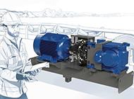 Industriegetriebe für starke Förderbänder