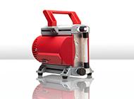 Zellenradschleuse für abrasive Pulver