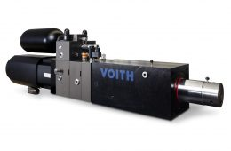 Autarker Servoantrieb CLDP - Closed Loop Differential Pump. (Bild: Voith)