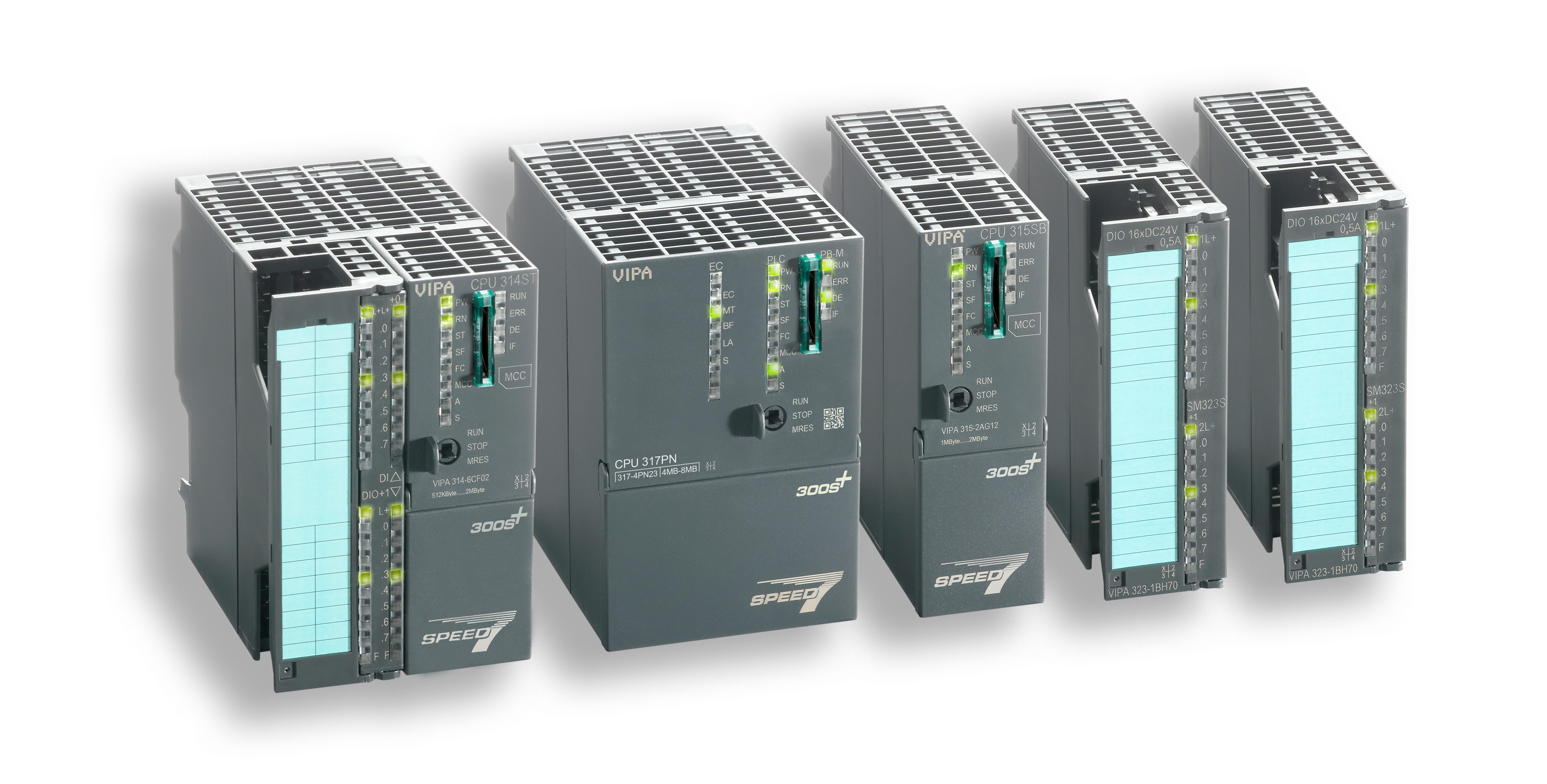 Yaskawa erhöht die Standardverfügbarkeit für die Steuerungsgeneration Vipa 300S+ und reagiert damit auf spezifische Marktanforderungen.