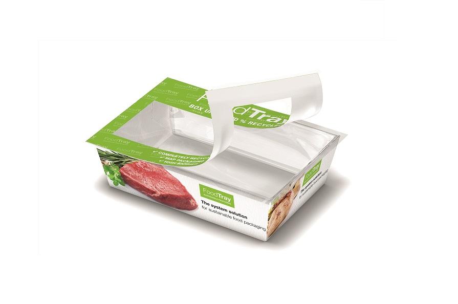 Die Karton-/Folienverbundlösung FoodTray kann nahezu komplett recycelt werden und ist vielseitig einsetzbar. Bild: Gea