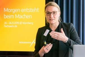 Cornelia Fehlner, LeiterinFachPack, NürnbergMesse GmbH. Bild: Ruess Group