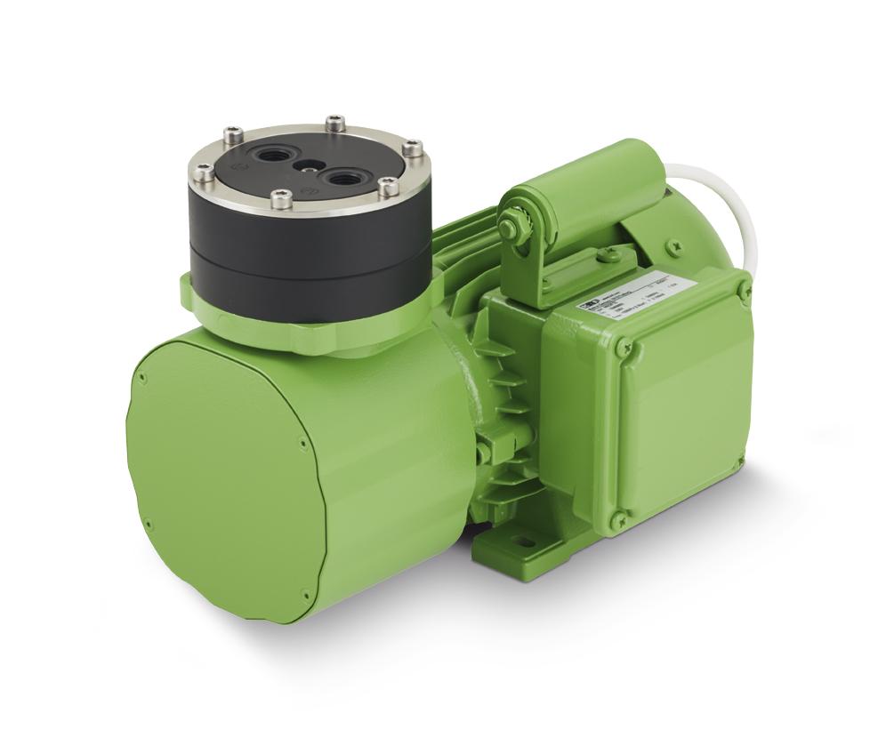 Die Membran-Gaspumpe N 922 überzeugt mit niedrigen Betriebskosten. Bild: KNF