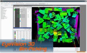 EVT Eye Vision Technology 3D Inspektion in der Bildverarbeitung mit EyeVision 3D Software
