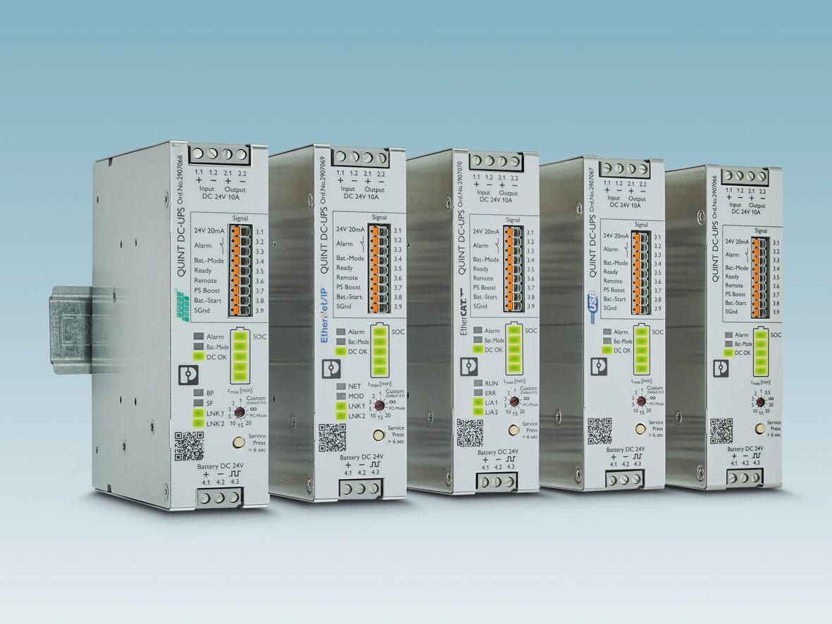 Quint DC-USV für industrielle Netzwerke