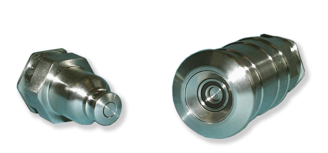 Hochwertige Schnellverschlusskupplung nach TA-Luft