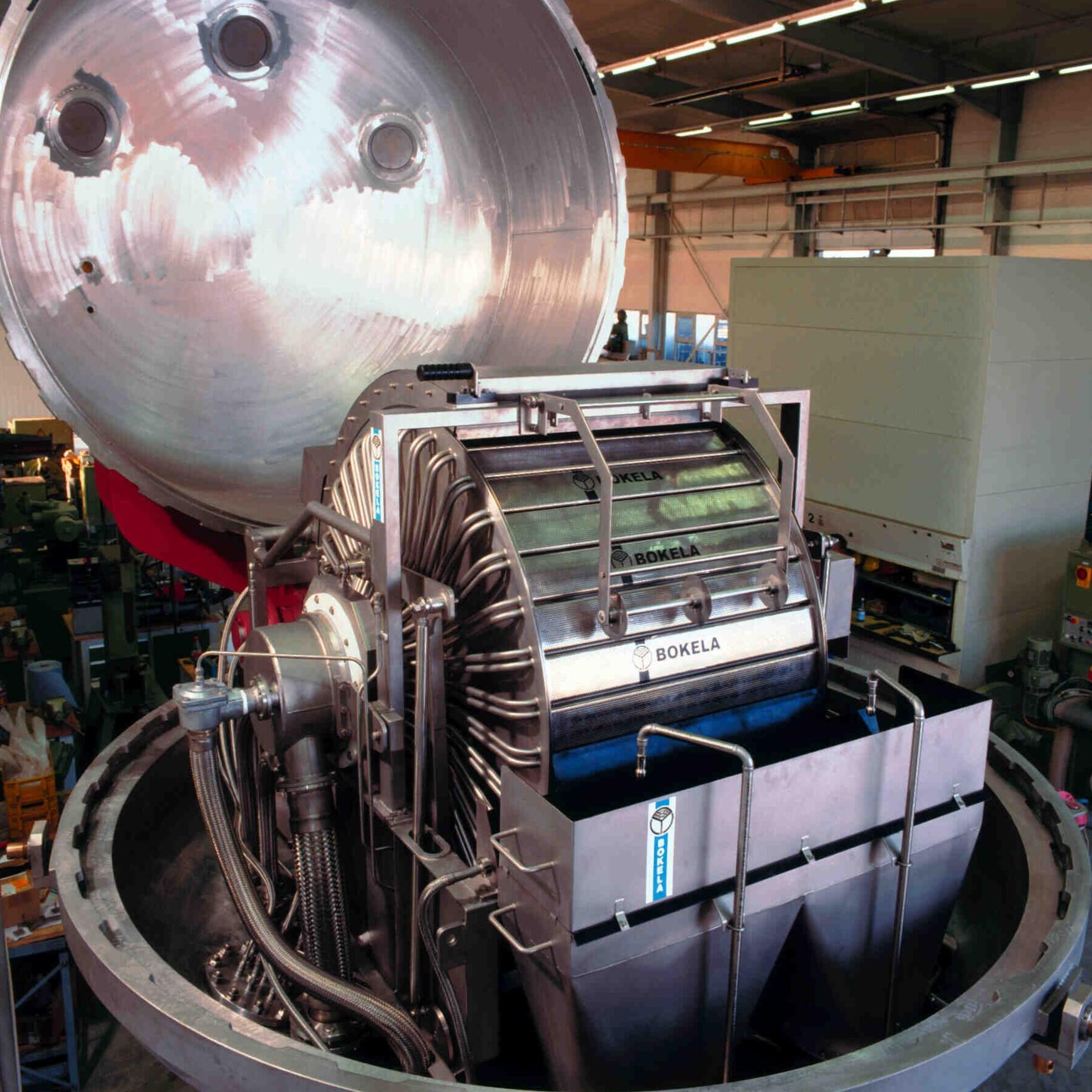 Kontinuierliches Druckfilter für die Chemie, Food, Pharma und Life Science Industrie