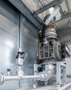 In vielen Industriezweigen ist der pneumatische Transport von Schüttgut wie etwa Pulver oder Granulat das Mittel der Wahl. Bild: Bürkert Fluid Control Systems