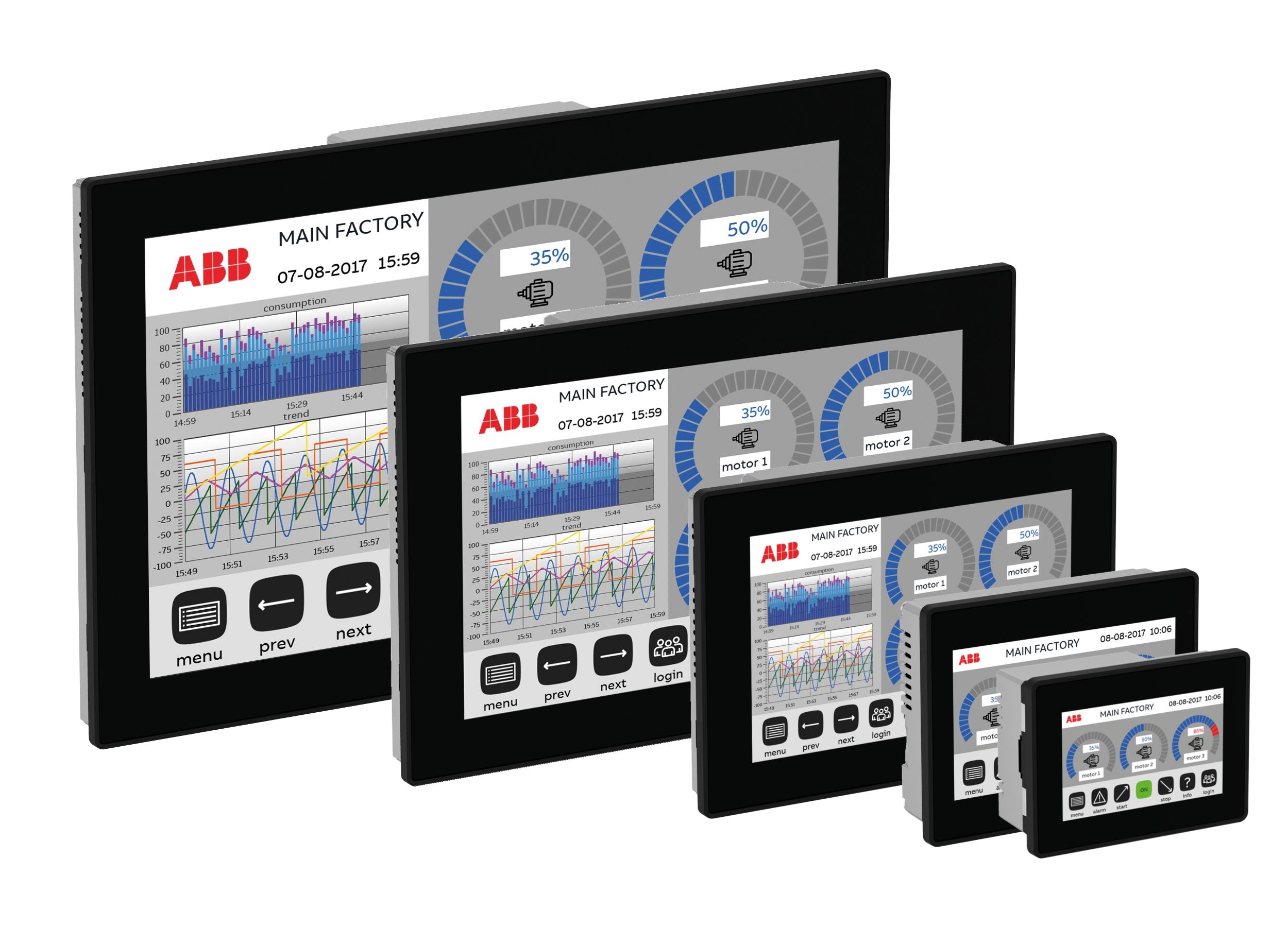 Neues multi-touch Bediengeräte-Portfolio für anspruchsvolle Anwendungen