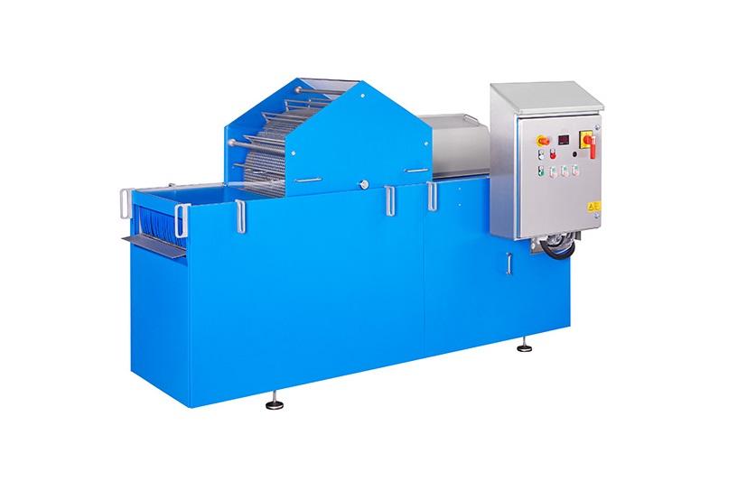 """Die innovative Waschmaschine Deconwa ist das Ergebnis aus einem geförderten Forschungsprojekt und wird ebenfalls live vorgeführt. Auch sie ist eines der """"Industrie 4.0""""-fähigen Smart-Modelle. Bild: Kronen"""