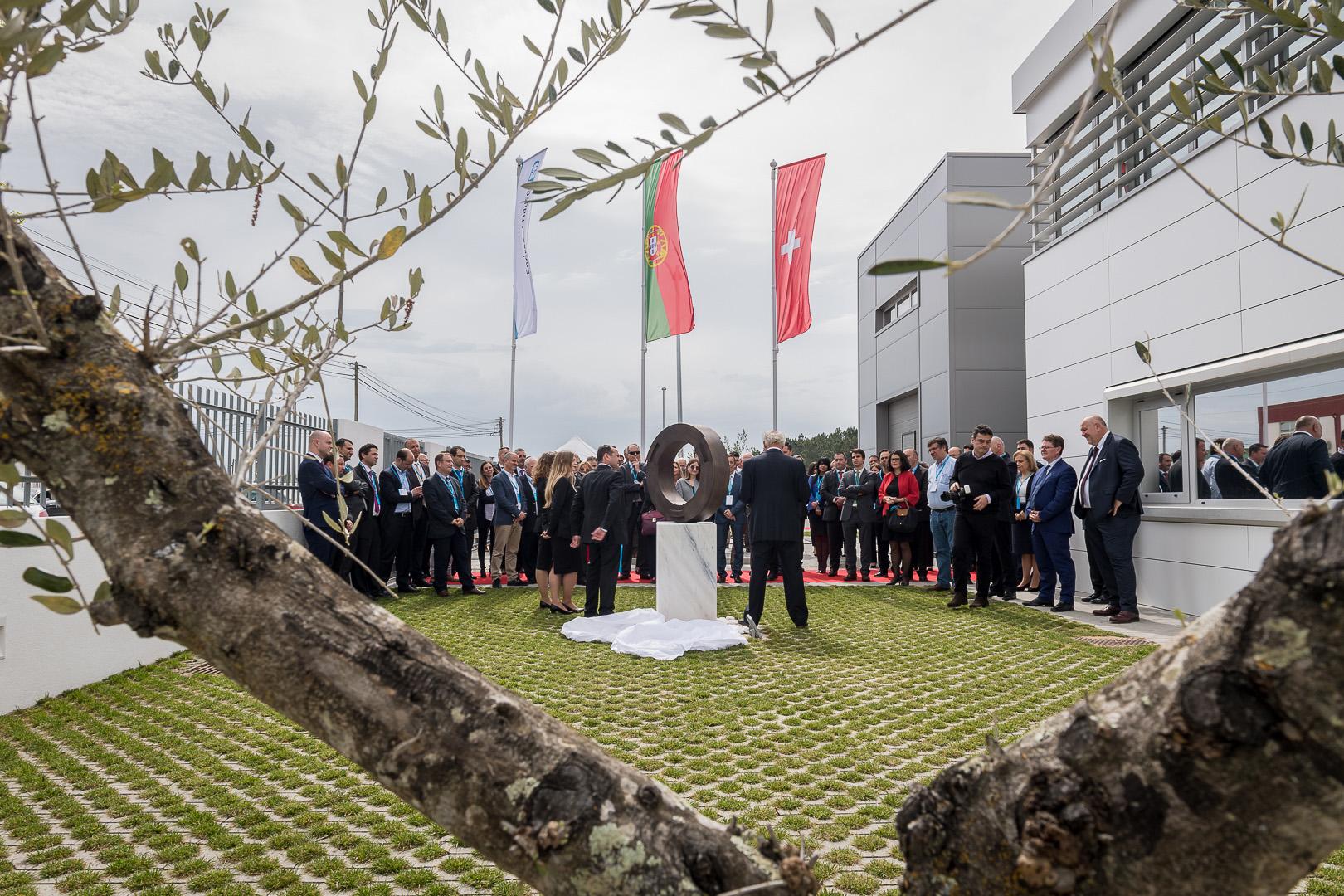 Einweihung des neuen Gebäudes von Endress+Hauser Portugal.