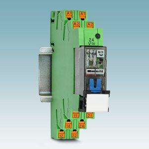 Elektromechanische Relais mit manueller Bedienbarkeit