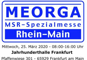 Meorga MSR-Spezialmesse Rhein-Main