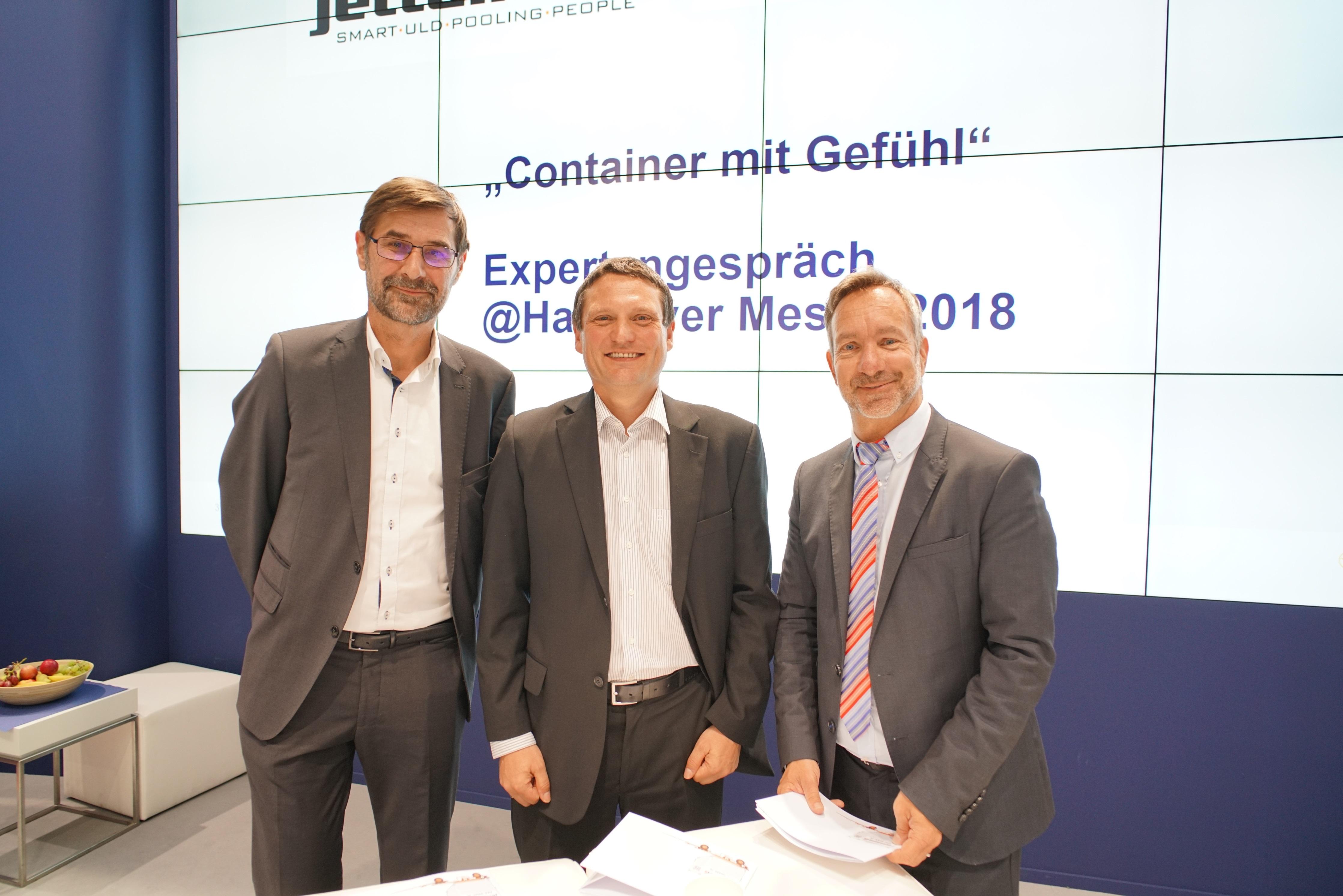 Jettainer testet nächste Generation des digitalen Containers