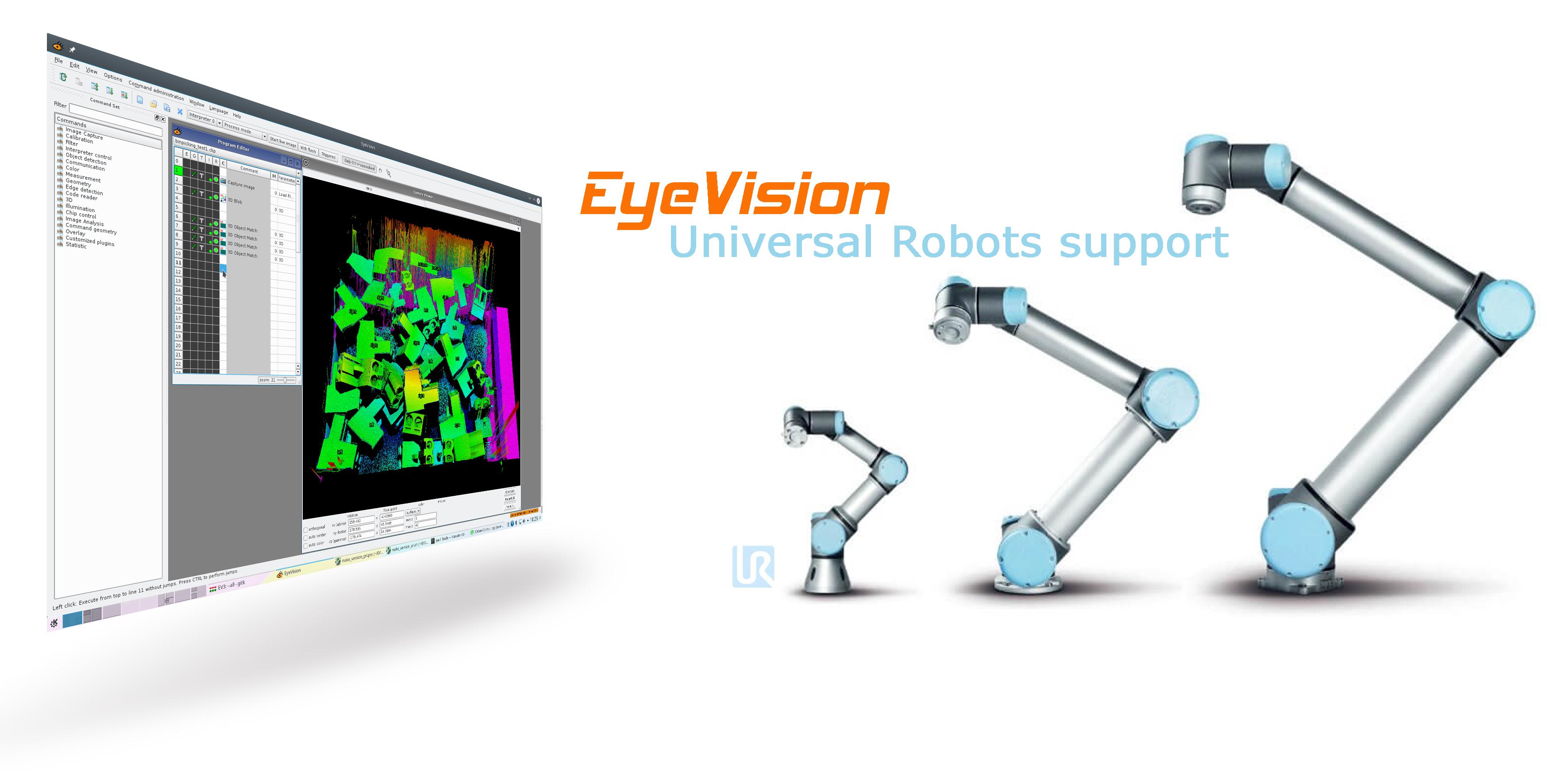 EyeVision 3.8 jetzt mit UR Befehl