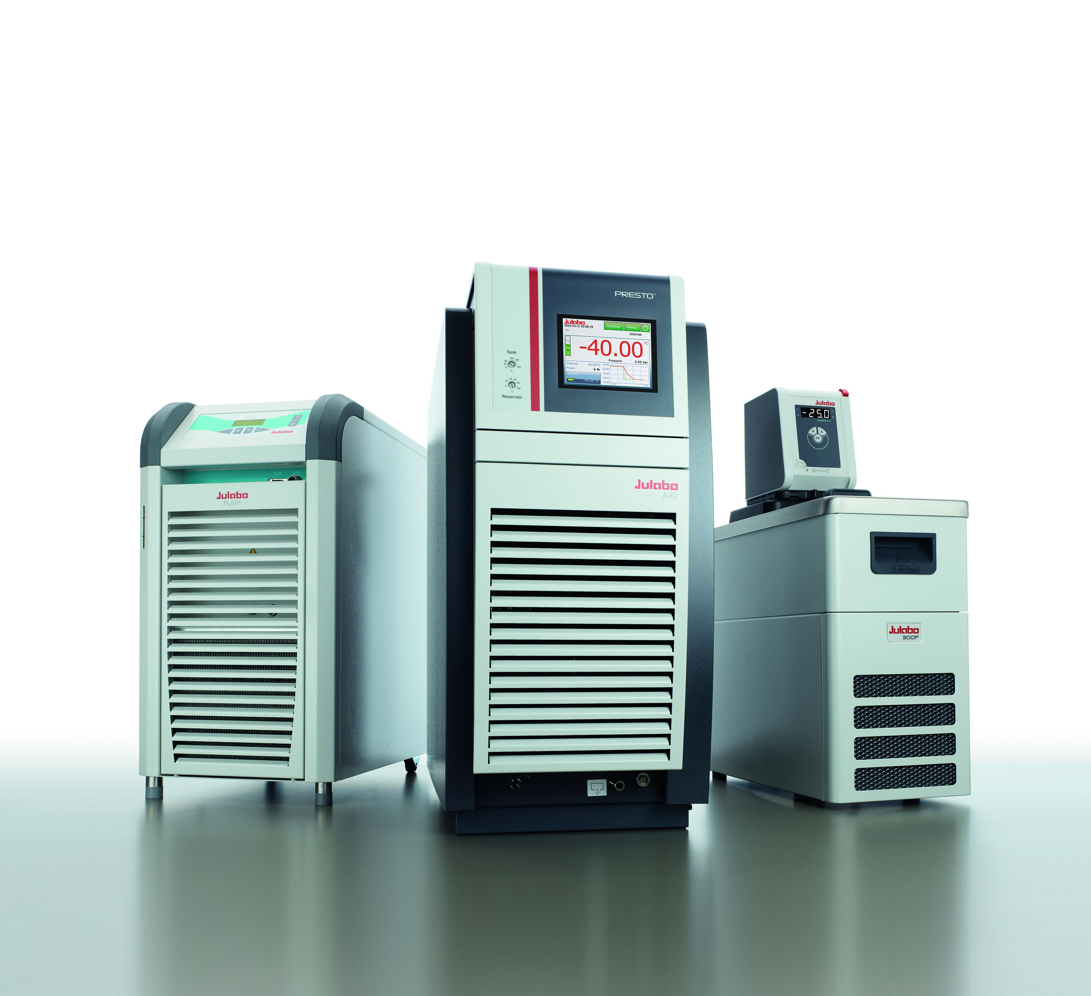 Die Temperiersysteme können im Labor wie auch in verschiedenen Industriebereichen eingesetzt werden.