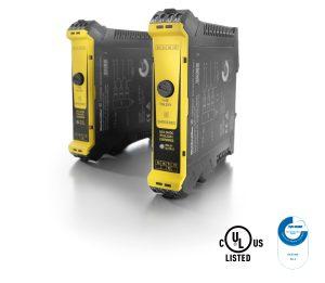 """Weidmüller Sicherheitsrelais """"SCS 24VDC P1SIL3DS I"""" für den Einsatz mit Triconex®-Sicherheitssteuerungen von Schneider Electric zugelassen: TÜV zertifiziert und UL zugelassen. (Bild: Weidmüller)"""