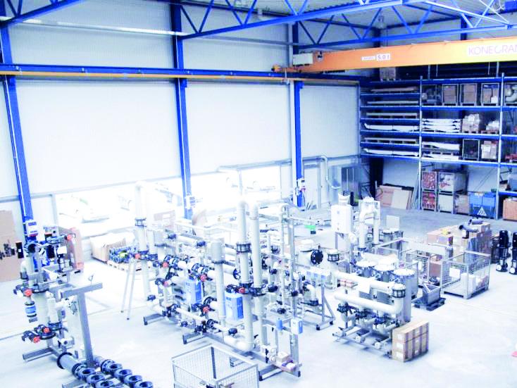 H+E plant, beschafft und realisiert weltweit Anlagen für die industrielle Wasseraufbereitung, Abwasserreinigung und Wasserrückgewinnung.