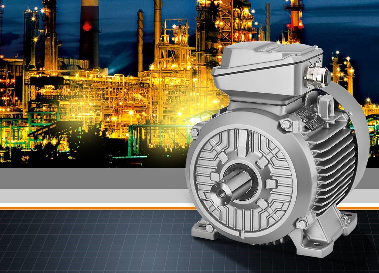 Simotics XP umfasst das komplette Spektrum aller explosionsgeschützten Motorentypen sowie alle Zündschutzarten und ist damit optimal für den Einsatz in explosionsgefährdeten Bereichen der Prozessindustrie geeignet.