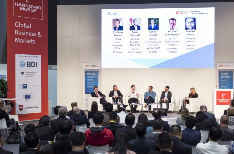 Hannover Messer USA: Industrie 4.0 meets the Industrial Internet of Things. Bild: Deutsche Messe