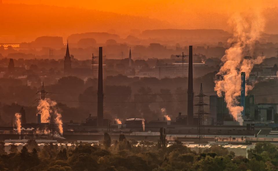 Industrie Umwelt Abluft