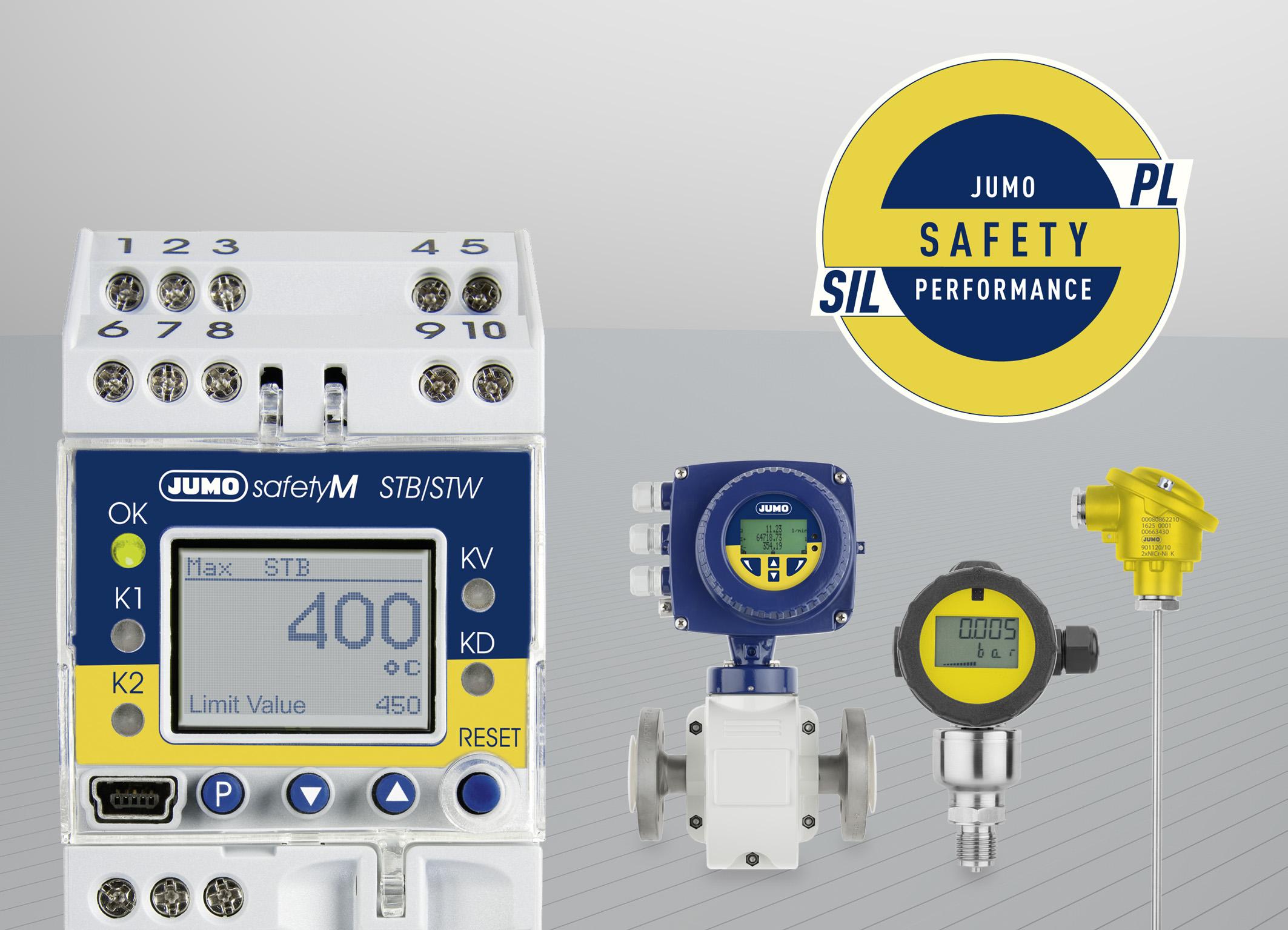 Jumo Safety Performance ist ein innovatives Produkt- und Lösungskonzept rund um die Themen SIL und PL.