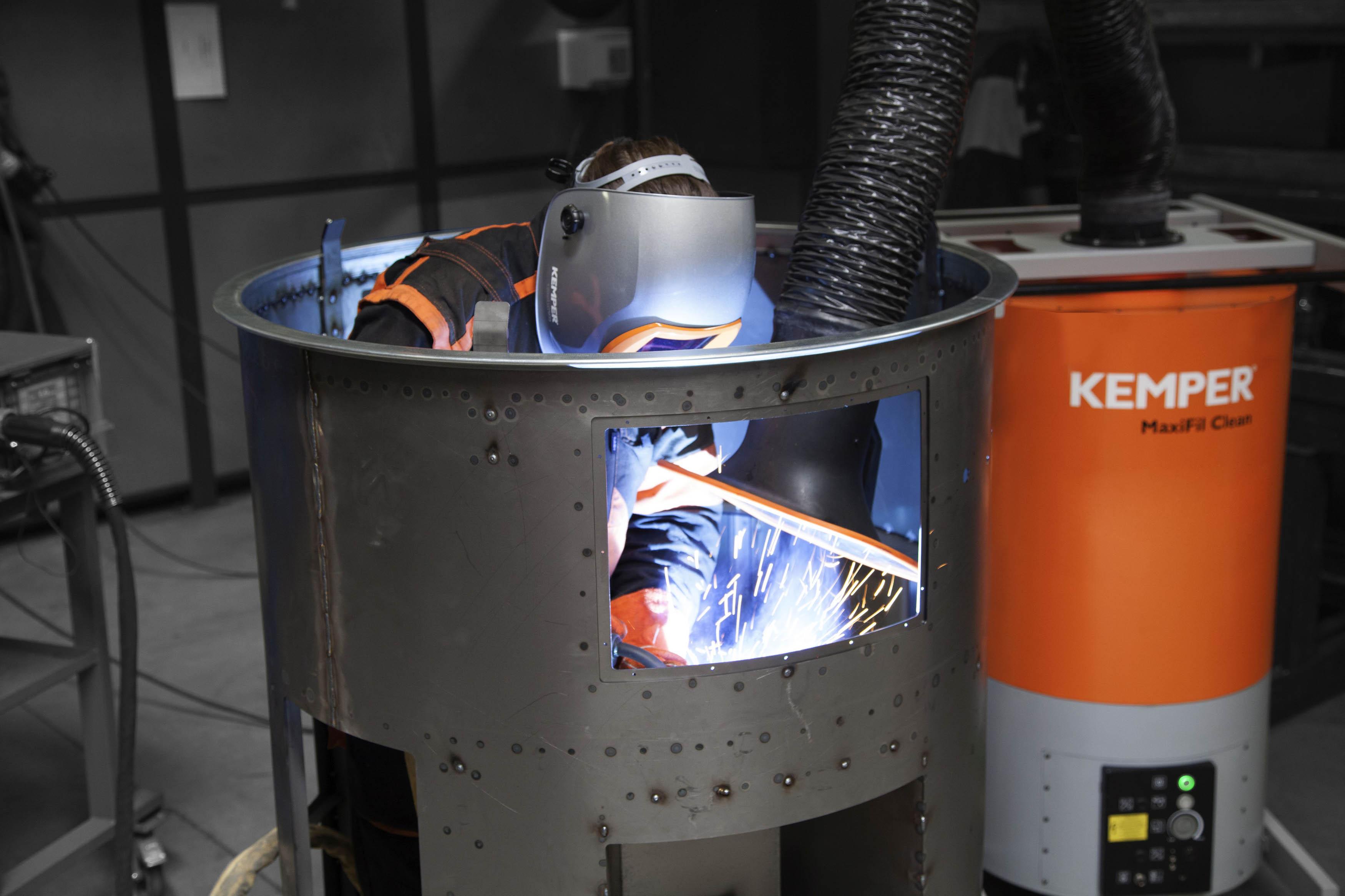 Sichere Entsorgung: Kemper erhält Patent auf kontaminationsfreien Staubaustrag