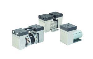 Auf alles vorbereitet: Die Modellserie N 838 eignet sich für zahlreiche Geräte der Emissionsmesstechnik. Bild: KNF