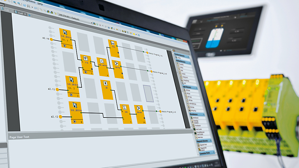 Für die konfigurierbare sichere Kleinsteuerung PNOZmulti von Pilz steht ab Version 10.9.neu eine Anwendungs-Simulation zur Verfügung.