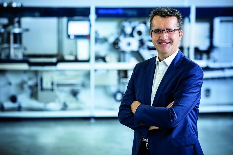Neuer Geschäftsführer der Romaco Pharmatechnik GmbH Markus Regner leitet das Werk in Karlsruhe