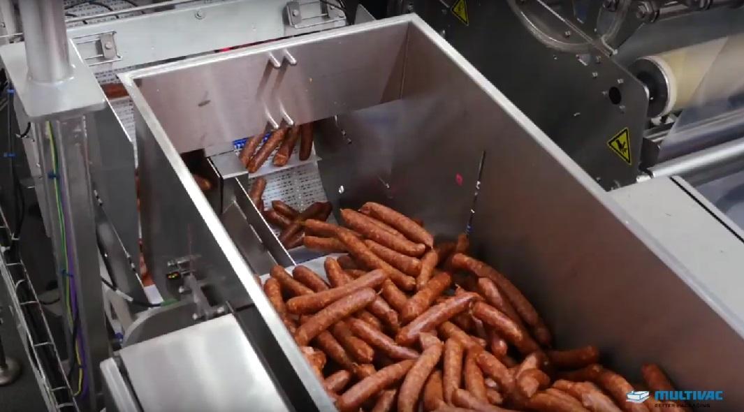 Multivac Verpackung Industrie Food Lebensmittel Wurst Fleisch Automatisch Automation Automatisierung Maschine Anlage