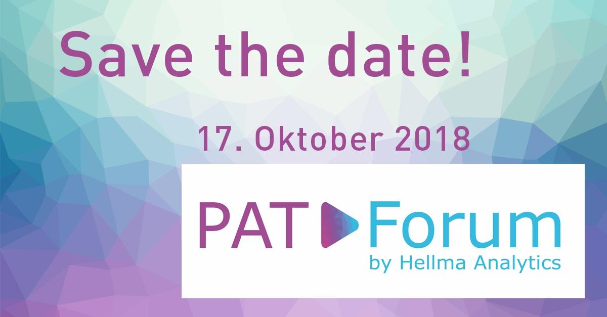 2. Hellma PAT-Forum am 17. Oktober 2018