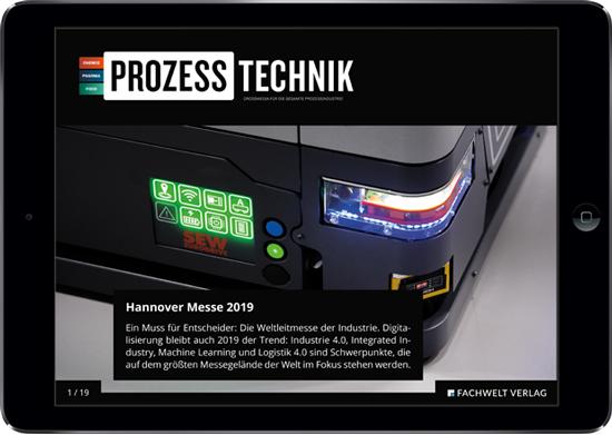 Das PROZESSTECHNIK-E-Magazine