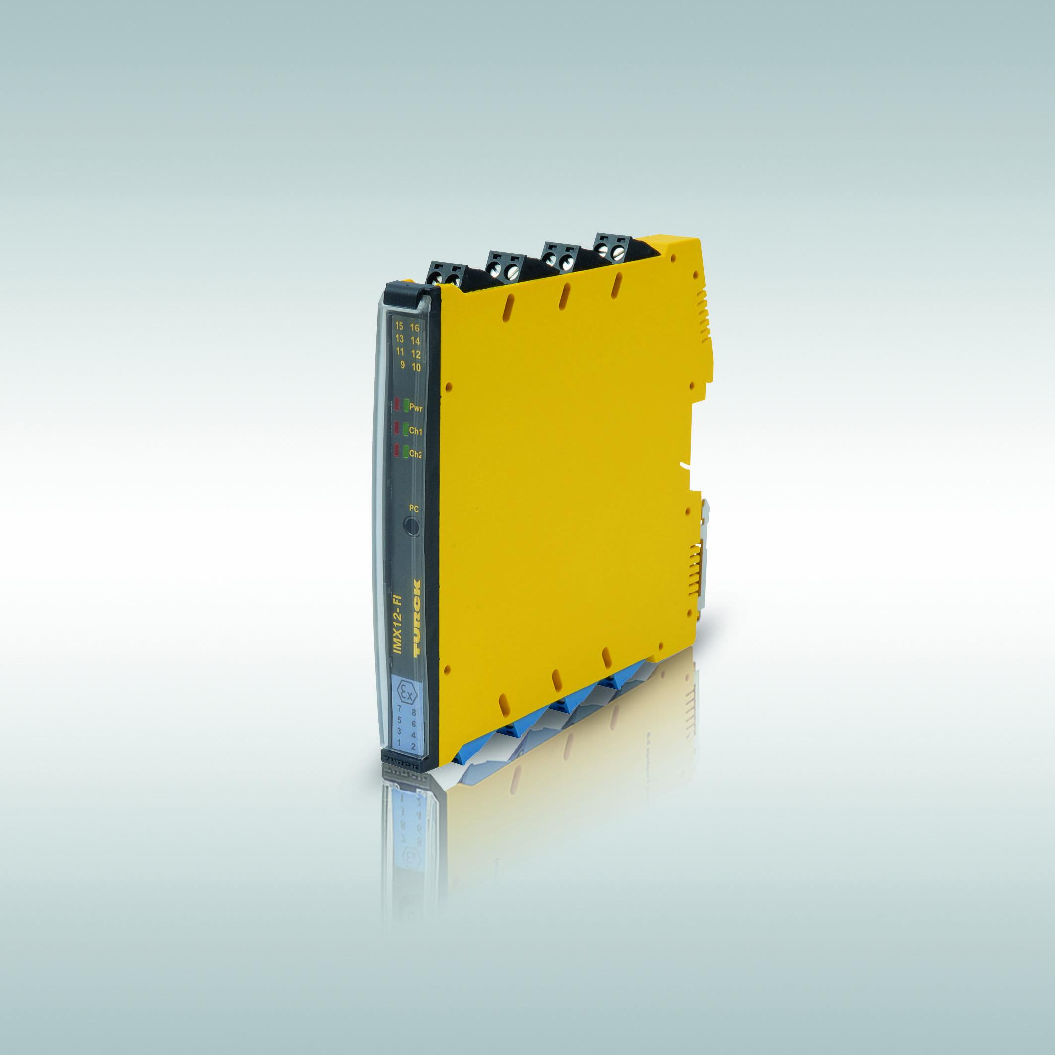 Turcks IMX12-FI überwacht nicht nur die Drehzahl, sondern dient auch als Pulscounter.