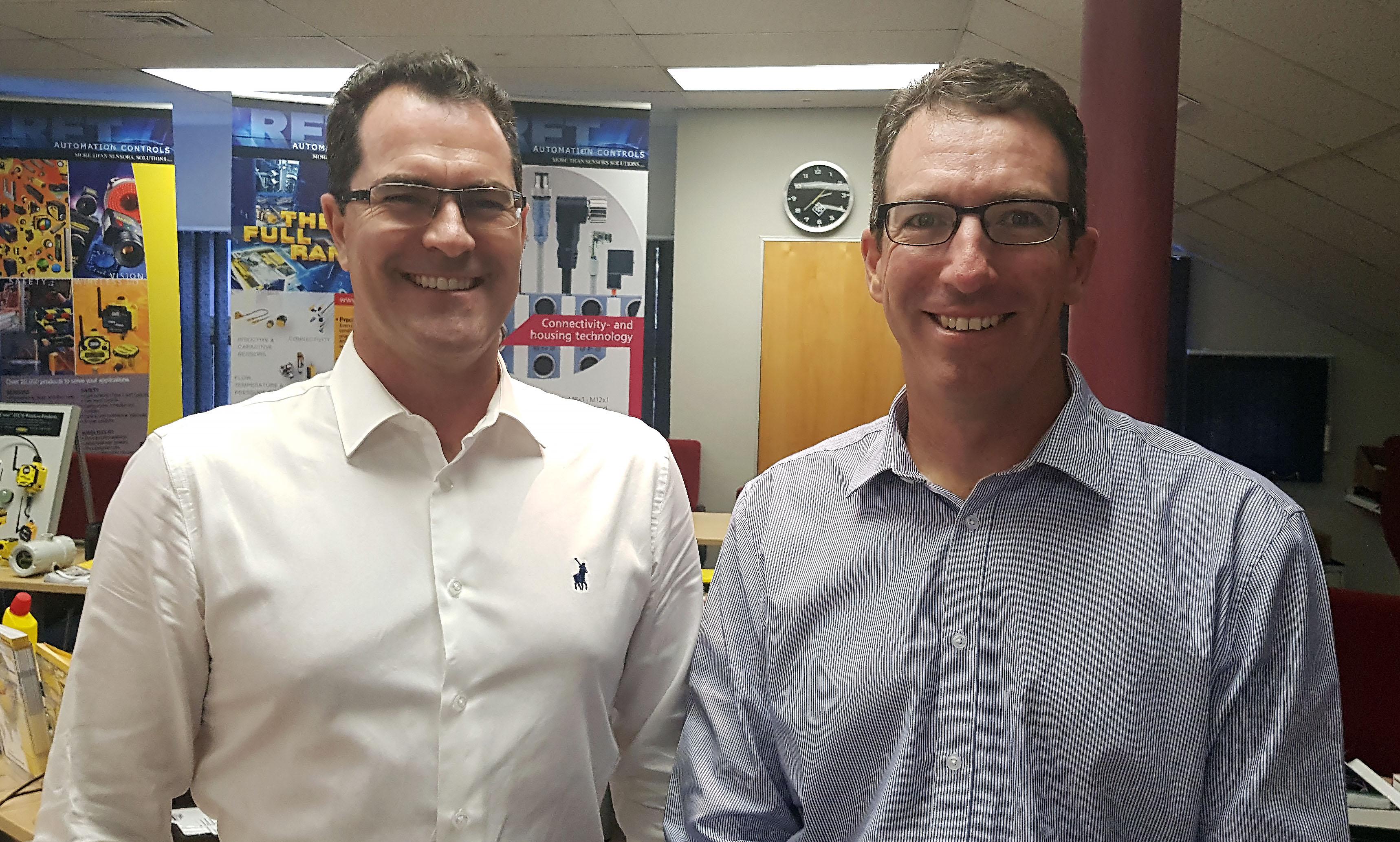 Die bisherigen RET-Gesellschafter, Brandon Topham und Garth Cubitt, werden auch Turck Banner in Südafrika leiten.