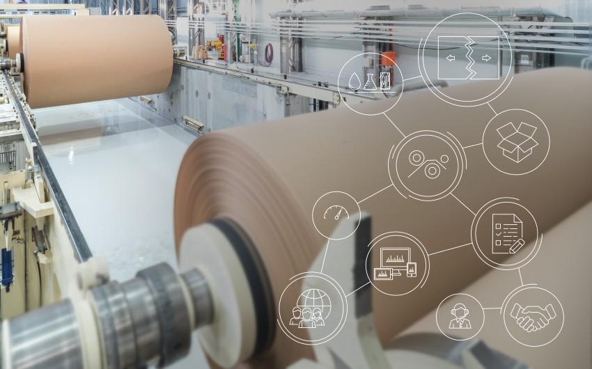 Die digitalen Lösungen von Voith erhöhen die Effizienz der Papierproduktion. Bild: Voith