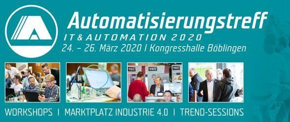 Automatisierungstreff Messe Trade Fair Böblingen