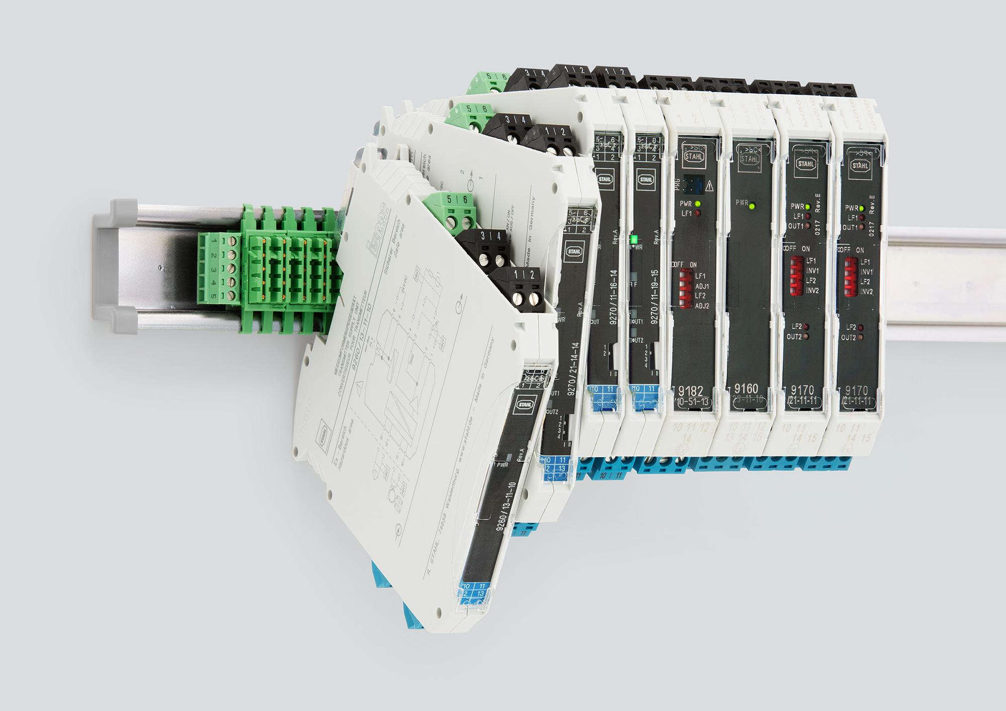 R. STAHL stellt seine neuen, nur 12,5 mm schmalen ISpac-Module für höhere Signaldichte bei geringer Baubreite vor