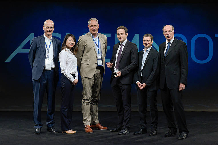 Plasmion erhält Achema-Gründerpreis 2018. (Bild: Dechema e.V./ Jose Poblete)