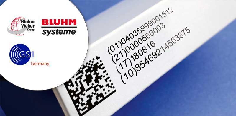Pharmaverpackung mit Datamatrix-Code. (Bild: Bluhm Systeme)