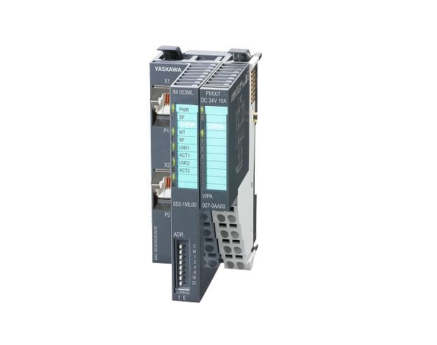 Mit der neuen Mechatrolink-III Schnittstelle SLIO 053ML bietet Yaskawa eine neue Möglichkeit, bis zu 64 Module des bewährten SLIO-Systems in Mechatrolink-III-Netzwerke einzubinden. Bild: Yaskawa